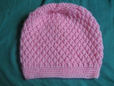 Squiggly Slouch Hat free crochet pattern