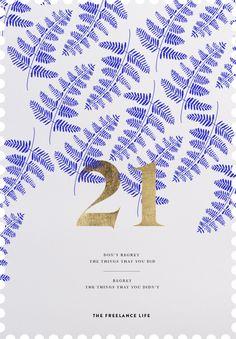 fern, graphic design, pattern, freelanc life, blue, wedding invitations, modern weddings, table numbers, print