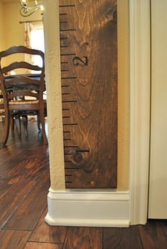 Oversized growth chart ruler - PB Knockoff