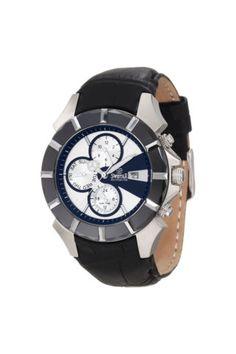 Swiss Quartz Watch With Calfskin Leather Band