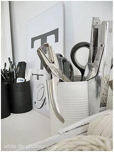 white life ©: Less decoration - More organization