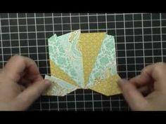 Easy Starburst (Sunburst) Card Technique - Version 2