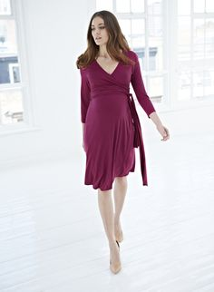 Isabella Oliver | The Wrap Maternity Dress