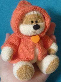 Teddy Bear Amigurumi - Free Russian Pattern here: http://knitting-for-babies.ru/igrushki/kheppimikh-mk-ot-svetlany-fon