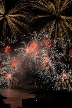 Lake Biwako Fireworks Festival, Japan