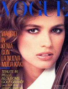 Gia Carangi  -  Italian Vogue  February 1982