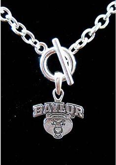 Baylor necklace.  #Baylor