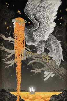Yuko Shimizu - The Unwritten #44 - Cover created for DC Comics Vertigo series February 2013