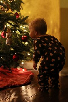 I will have a little one doing this same thing this Christmas.