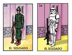 Star Wars Loteria: the classical Mexican board game turned intergalactic