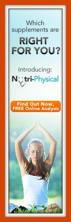 Finding the right supplement can be difficult and very confusing. This is why the nutri-physical was developed. To help you discover your body's unique needs and match them with customizable nutritional supplements. Stop guessing what might be best for you, find out what your body really needs. Learn more at http://www.shop.com/steveg/NutriPhysical-t+260.xhtml