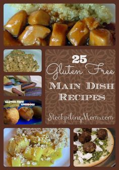 If you are like me you are always looking for good tasting dinner recipes that are gluten free.  They are sure to be a hit on your menu plan!