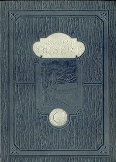 1925 Desert, University of Arizona Yearbook
