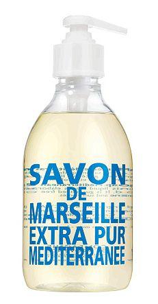 I love this brand! Mediterranean Sea Liquid Soap by Compagnie de Provence