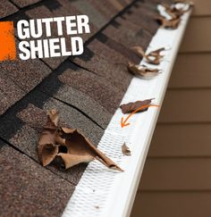 A gutter guard, or gutter shield, is a filter that can be attached to a home's gutter to prevent leaves and debris from clogging the gutter.