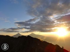 Sunrise over the Vir