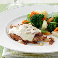 Bacon-Swiss Pork Chops Recipe
