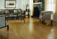 Natural Strand Bamboo by Morning Star: in its natural, unstained state.