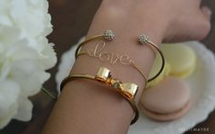 swellmayde: DIY | WIRE LOVE / NAME BRACELET WITH TASSEL