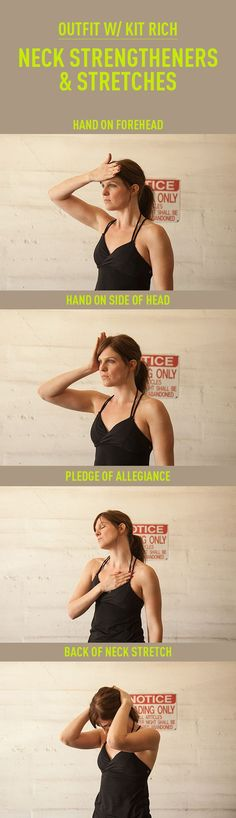 NECK STRENGTHENERS AND STRETCHES