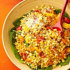 Grilled-Corn Salad