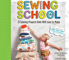 sewing school for kids... book
