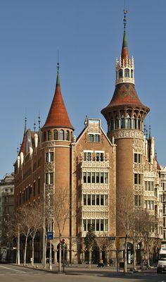 Casa de les Punxes. Barcelona