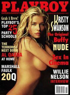 Playboy magazine cover November 2002