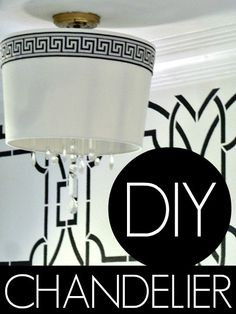 DIY Drum Shade Chand
