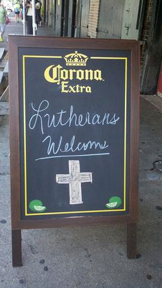 Welcome lutherans by elcagathering, via Flickr