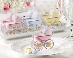 Wedding boxes of Classic Pram favor box 90PCS/LOT Pink and Blue Color Best for candy boxes,baby shower wedding favor wholesaler-in Event & Party Supplies from Home & Garden on Aliexpress.com