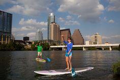 Paddle Board Town Lake #sxsw