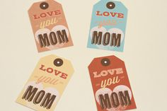 Printable Best Mom Cards