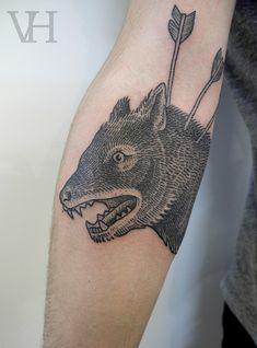 valentinhirsch - wolf