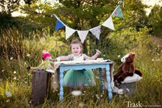 Tea party photo shoot, Two year old fun. | Charlotte Trask Photography