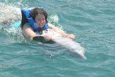 Isla Mujeres : Dolphin Discovery | http://wanderlovetravels.com