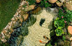Como fazer uma piscina natural