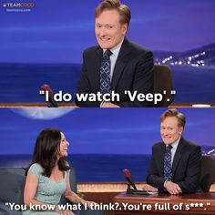 Julia Louis-Dreyfus Gets Real With Conan