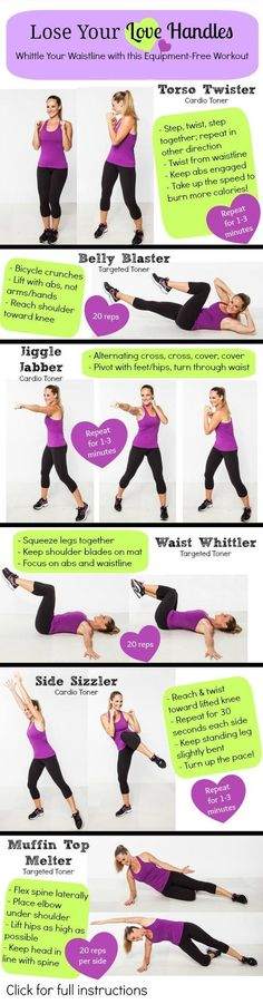 The Lose Your Love Handles Workout
