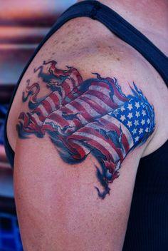 patriotic tattoos | Patriotic Flag !... – Tattoo Picture at CheckoutMyInk.com