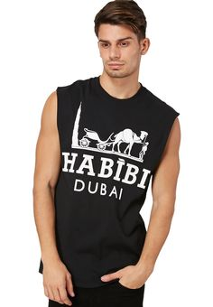 BRC STREET COUTURE brings you this funky Habibi Dubai vest! Shop for it on www.namshi.com
