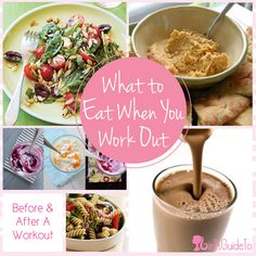 What to Eat When You Work Out | GirlsGuideTo