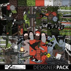 Enjoy these high quality designs by #Fit2beScrapped @MyMemoreis.com #DIgital #Creative #scrapbook #Craft #Duck_season