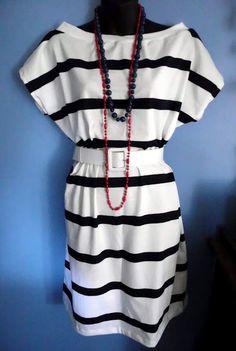 Easy sew T-shirt dress