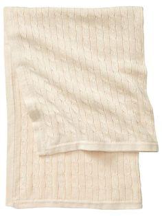 Gap Favorite Cable Baby Blanket