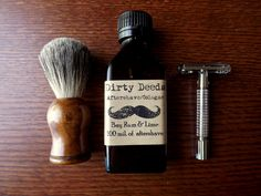 Men's Aftershave/Cologne Bay Rum and Lime by DirtyDeedsSoaps, $12.50