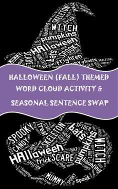 "FREE LANGUAGE ARTS LESSON - ""6 Traits Halloween Word Cloud Activity, Parts of Speech Review & Activity"" - Go to The Best of Teacher Entrepreneurs for this and hundreds of free lessons.   #FreeLesson   #LanguageArts   #Halloween  http://www.thebestofteacherentrepreneurs.net/2013/10/free-language-arts-lesson-6-traits.html"