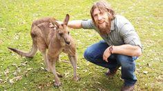 WWE.com: Daniel Bryan and Natalya visit the Lone Pine Koala Sanctuary in Brisbane: photos