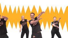 Koo Koo Kanga Roo - Dinosaur Stomp: House Party Dance-A-Long Workout