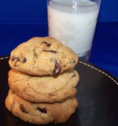 Cranberry, Bittersweet Chocolate Chip Cookies in a Jar Mix from Food.com: Be sure to place a ribbon on the jar with directions for baking.